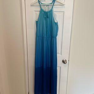 NY Collection Blue Maxi Dress